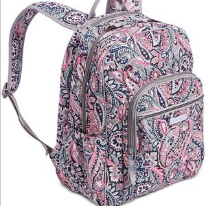 Vera Bradley Iconic Campus Tech Backpack.